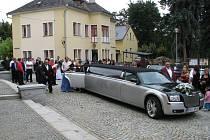 Šumperk v sobotu 30. července zažil romskou svatbu