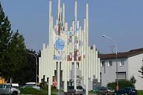 Fontána před zábřežským kulturákem