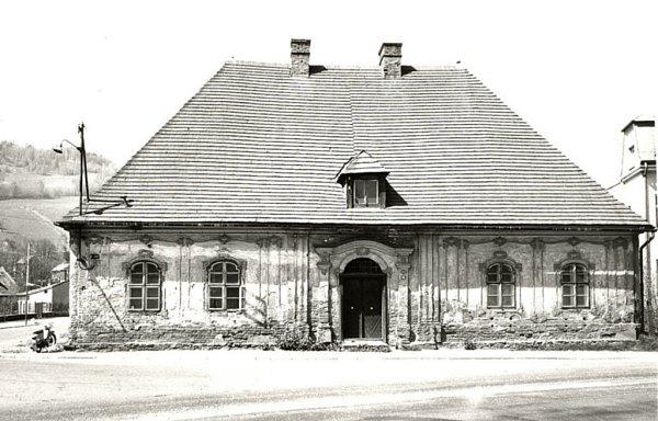 Budova Katovny vJeseníku vroce 1965