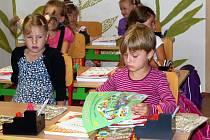 Slavnostní zahájení nového školního roku na Základní škole v Hrabové.