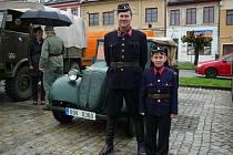 Sraz automobilových veteránů 11. května v Zábřehu.
