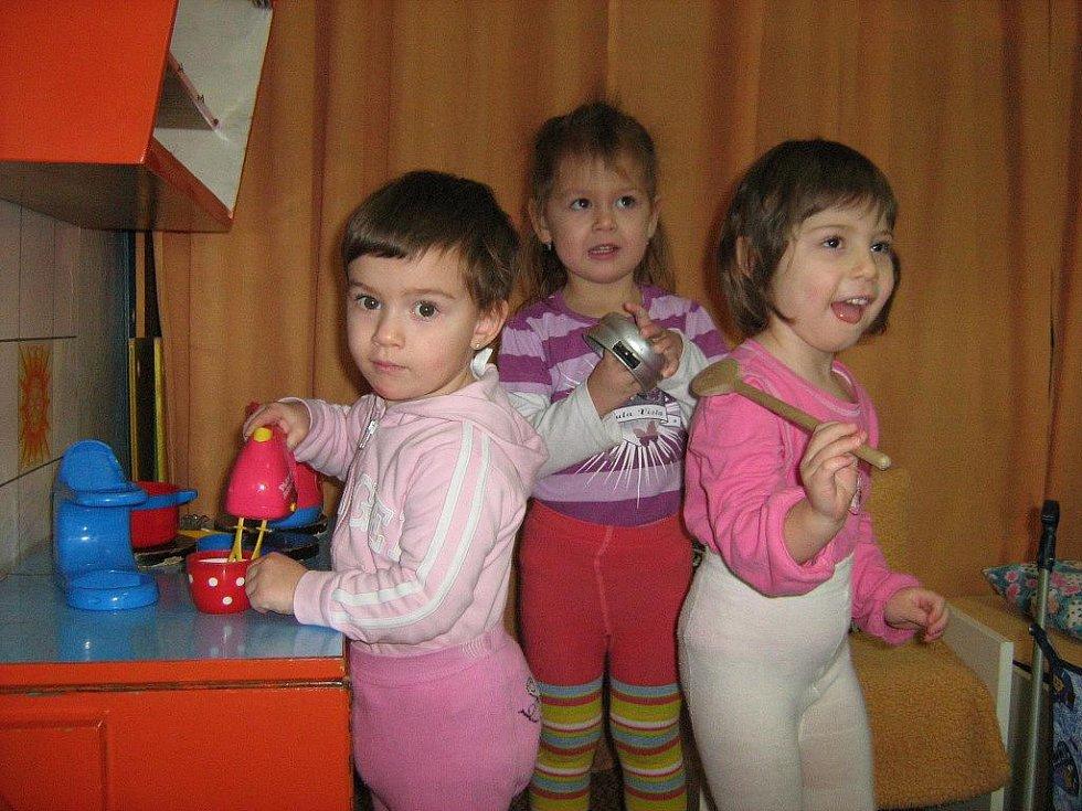 Děti mateřské školy ve Vidnavě
