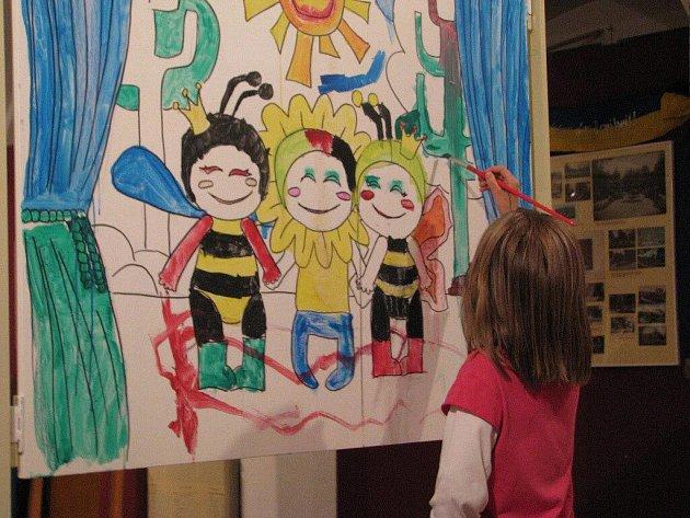 Několik stovek dětí navštívilo ve čtvrtek 4. srpna Den v muzeu v Šumperku