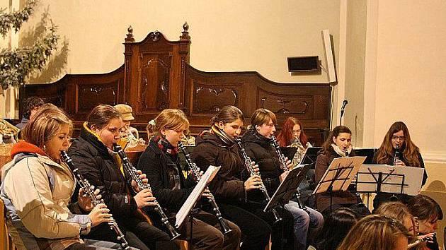 Dechový orchestr ZUŠ Zábřeh