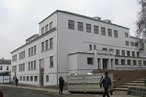 """Rekonstrukce Masarykovy školy v Zábřehu pro potřeby místní """"zušky"""" je těsně před dokončením."""