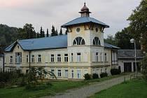 Lázně v Lipové v září 2015.