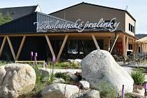 Jana Kašparová otevřela ve Velkých Losinách novou výrobnu a prodejnu svých vyhlášených pralinek.