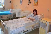 Nové lůžko Jesenické nemocnice.