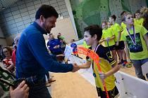 Do Jeseníku zavítaly na florbalový turnaj dva polské týmy