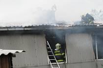 Požár rodinného domu v Jestřebí