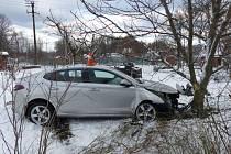 Dopravní nehoda ve Zlatých Horách