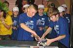 Mistrovství České republiky v soutěži First Lego League 2008.