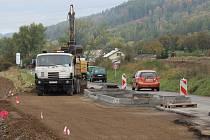 Stezka pro chodce a cyklisty mezi Šumperkem a Bratrušovem v pátek 4. října.
