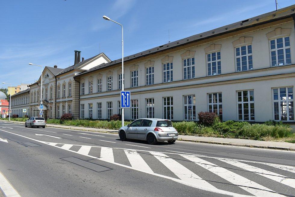 Bývalý úřad práce v Lidické ulici v Šumperku 4. června 2021.