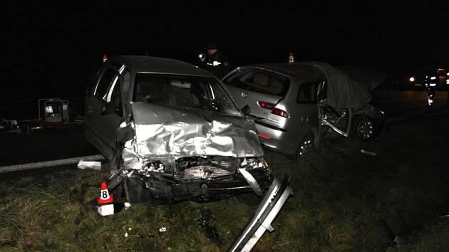 Tragická nehoda mezi Šumperkem a Bludovem