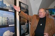 Před rokem byl na zábřežské festivalu věnovaném polárníkovi Eskymo Welzlovi jedním z vystavujících Jaroslav Klempíř se snímky z Grónska.