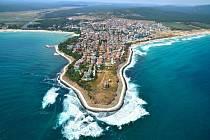 Bulharsko a Černé moře.