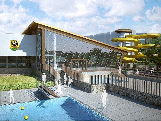 Budoucí podoba jesenického aquaparku