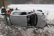 Nehoda u Branné.