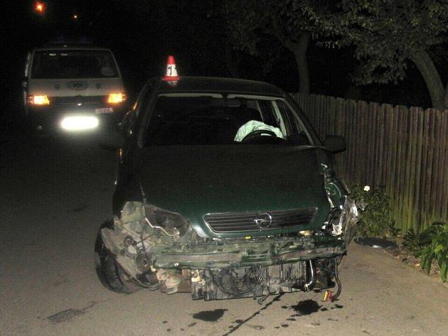 Nehoda v Bohutíně.