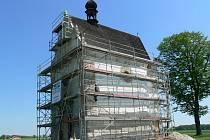 Kaple svatého Rocha v Úsově na archivním snímku