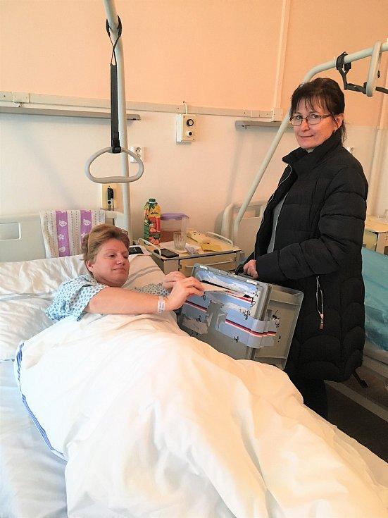 Druhé kolo voleb prezidenta v lednu 2018 v nemocnici Šumperk