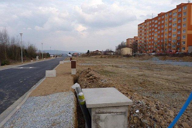 Nad Postřelmovskou ulicí v Zábřehu vzniká nová lokaliota pro výstavbu rodinných a bytových domů