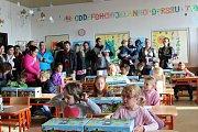 První školní den na ZŠ Sluneční v Šumperku