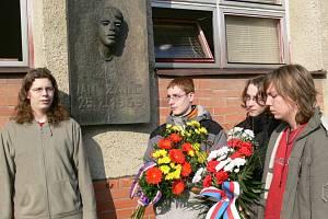 Studenti si připomněli odkaz Jana Zajíce.