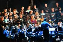 Koncert filmové hudby na náměstí v Zábřehu 19. září 2020