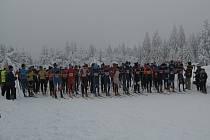 Běžci na lyžích, ilustrační foto.