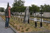 Hřbitov v Bílé Vodě na Jesenicku