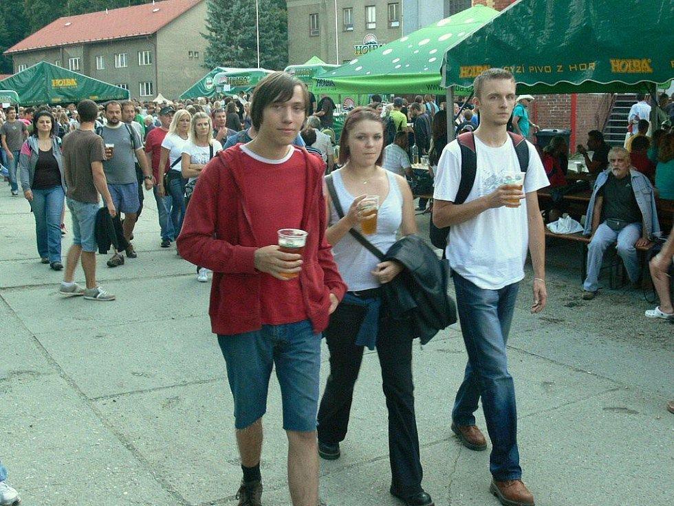 Ze sobotních Pivovarských slavností v Hanušovicích