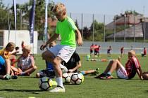 Desítky hráčů FK Šumperk podstoupily testování v rámci projektu ProFútbolAnalytics.