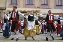 Mezinárodní folklorní festival v Šumperku. Ilustrační foto