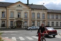 Úřad práce v Lidické ulici v Šumperku