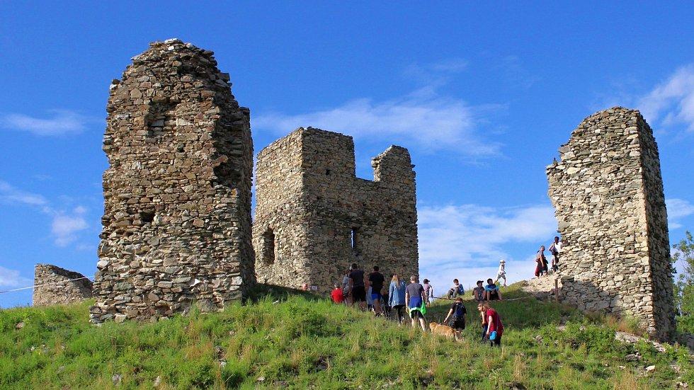 Středověké odpoledne na hradě Brníčko, 5. 7. 2019
