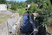 Rekonstrukce mostů v Hanušovicích.
