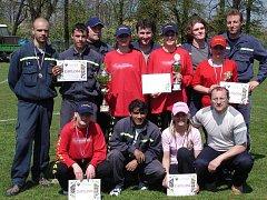 Vidnavští dobrovolní hasiči a hasičky