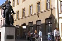 Areál bývalé vojenské správy na Hlavní třídě.