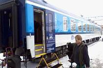 Společnost Pars nova v Šumperku představila prototyp modernizovaného osobního vozu.