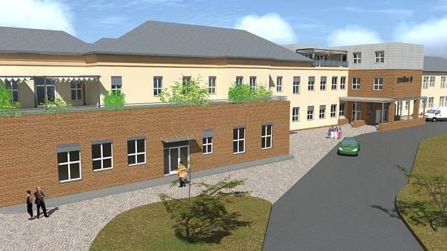 Díky plánované kapacitě lůžek i prostorovému uspořádání bude pavilon dlouhodobé ošetřovatelské péče unikátním pracovištěm.