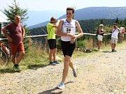 Marek Chrascina vyhrál závod Běh na Šerák a zároveň se stal mistrem České republiky v běhu do vrchu.