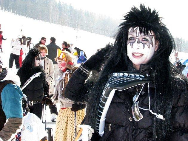 V areálu Kareš v Koutech nad desnou se to v sobotu 21. února hemžilo nejrůznějšími maskami.