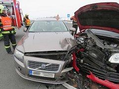Nehoda u Postřelmova.