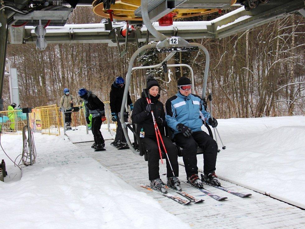 Skiareál Miroslav v Lipové-lázních