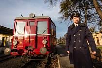 Historický vlak Hurvínek