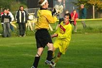 Fotbalová I. A třída pokračovala dalšími zápasy.