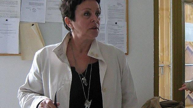 Helena Raidová přichází k soudu