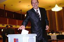 Staronový starosta Šumperku Zdeněk Brož